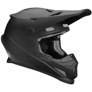 Casque cross SECTOR BLACK 2020 Noir