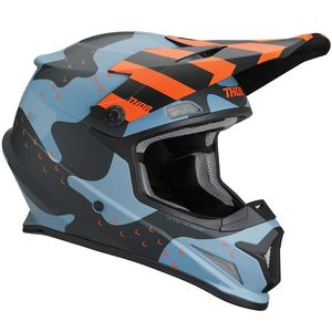 Casque cross SECTOR MOSSER BLUE CAMO 2020 Bleu