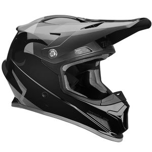 Casque cross SECTOR SHEAR BLACK CHARCOAL ENFANT  Noir/Gris