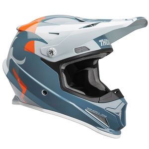 Casque cross SECTOR SHEAR SLATE SKY ENFANT  Bleu