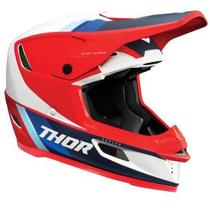 Casque cross REFLEX  - APEX MIPS - RED WHITE BLUE 2021 Red White Blue