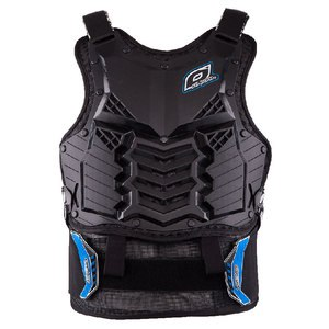 Plastron HOLESHOT LONG - BLACK 2020 Black/Blue