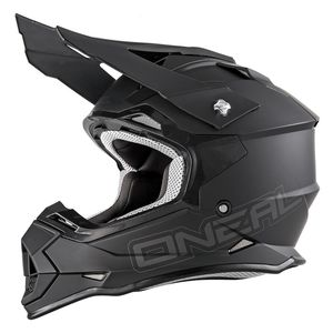 Casque cross 2 SERIES RL - FLAT - BLACK MATT 2020 Black