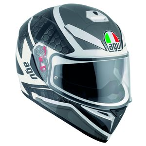 Casque K-3 SV - PULSE  White/Black/Gunmetal
