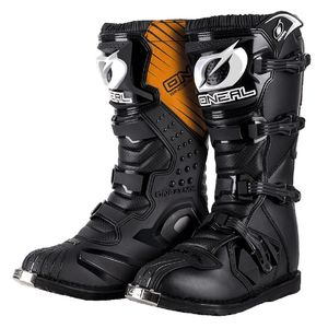 Bottes cross RIDER - BLACK 2020 Black / Brown