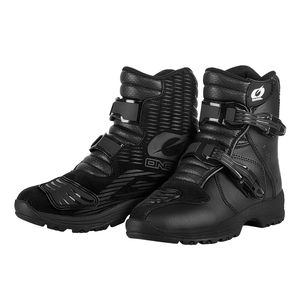Bottes Cross O'neal Rider Shorty - Street - Black 2019