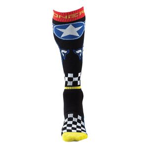 Chaussettes MX - WINGMAN  Black/Blue
