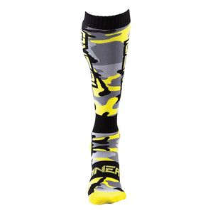 Chaussettes MX - HUNTER  Black/yellow