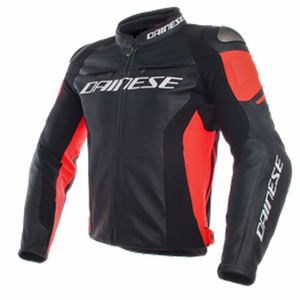 Blouson RACING 3 FLUO  Black/Red