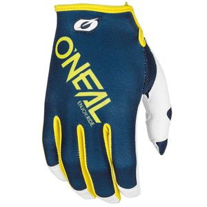 Gants Cross O'neal Mayhem Two-face - Bleu Jaune - 2018