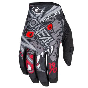 Gants Cross O'neal Mayhem - Matt Mac Duff Signature - Gray Red 2019