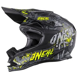 Casque Cross O'neal 7 Series - Menace - Gray Hi-viz 2019