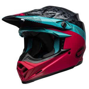 Casque cross MOTO-9 MIPS CHIEF BLACK/PINK 2019 Black/Pink