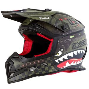 Casque cross 5 SERIES - WARHAWK - BLACK GREEN 2019 Green