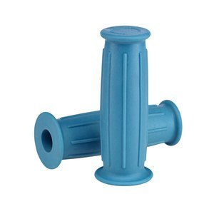 Poignées de guidon Lowbrow Customs GT Grips bleu