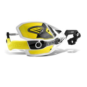 Protèges-mains Ultra CRM 28.6mm  Blanc/Jaune