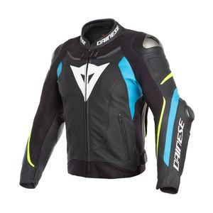 Blouson SUPER SPEED 3  Black/Fire-blue/Fluo-yellow