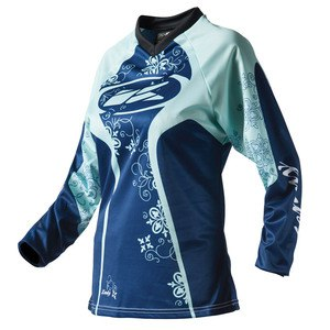 Maillot Cross Kenny Destockage Adventure Femme Bleu 2016
