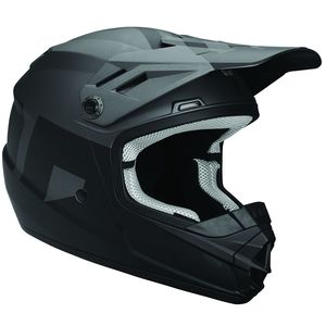 Casque Cross Thor Youth Sector Level - Gris Noir - 2019