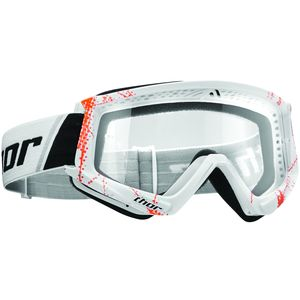 Masque cross COMBAT WEB ORANGE WHITE 2020 Orange/Blanc