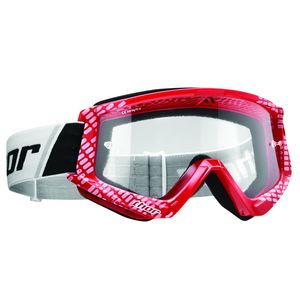 Masque cross COMBAT CAP RED WHITE 2020 Rouge/Blanc