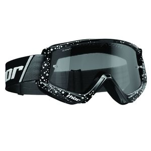 Masque cross COMBAT SAND BLAST BLACK 2020 Noir