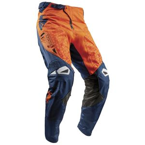 Pantalon Cross Thor Fuse Bion - Rouge Orange Bleu - 2018