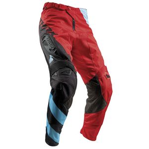 Pantalon Cross Thor Fuse Air Rive - Rouge Bleu Noir - 2018
