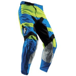 Pantalon Cross Thor Pulse Level - Bleu Vert - 2018