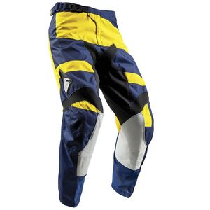 Pantalon Cross Thor Pulse Level - Bleu Jaune - 2018