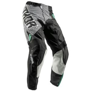 Pantalon cross YOUTH PULSE GEOTEC - NOIR BLEU -   Noir/Bleu