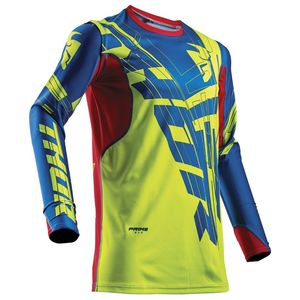 Maillot Cross Thor Prime Fit Paradigm - Vert Bleu Rouge - 2018