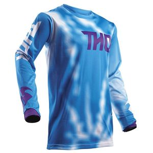 Maillot Cross Thor Pulse Air Radiate - Bleu - 2018