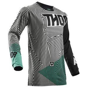 Maillot Cross Thor Youth Pulse Geotec - Noir Bleu - 2018