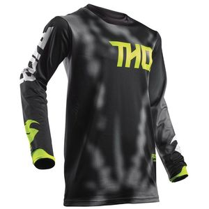 Maillot Cross Thor Youth Pulse Air Radiate - Noir - 2018