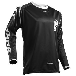 Maillot Cross Thor Sector Zones Black Enfant 2019