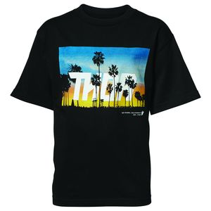T-Shirt manches courtes YOUTH SAN DIEGO  Noir