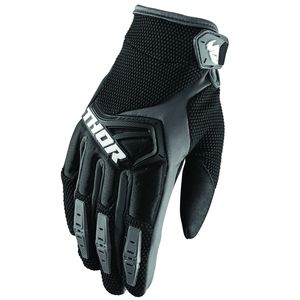 Gants cross SPECTRUM BLACK 2019 Noir