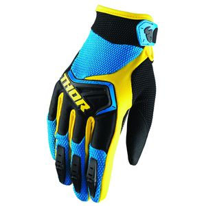 Gants Cross Thor Spectrum Blue Black Yellow 2019