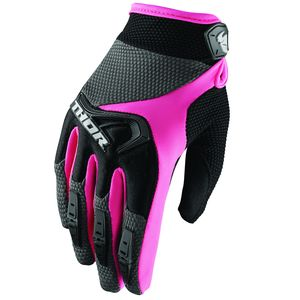Gants Cross Thor Spectrum Black Pink Femme 2019
