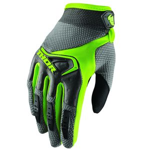 Gants Cross Thor Spectrum Gray Lime Femme 2019