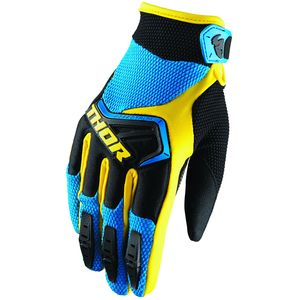 Gants Cross Thor Spectrum Blue Black Yellow Enfant 2019