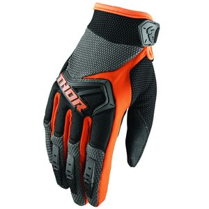 Gants cross SPECTRUM CHARCOAL ORANGE ENFANT  Gris/Orange