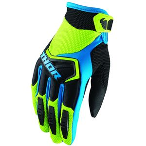 Gants Cross Thor Spectrum Green Black Blue Enfant 2019