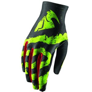 Gants Cross Thor Youth Void Rampant - Noir Vert Rouge - 2018
