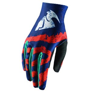 Gants Cross Thor Youth Void Rampant - Orange Bleu - 2018