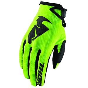 Gants Cross Thor Sector Lime Enfant 2019