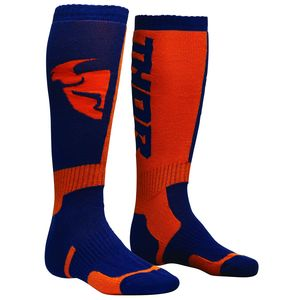 Chaussettes MX NAVY ORANGE  Bleu/Orange