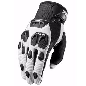 Gants Cross Thor Defend - Noir Blanc - 2018