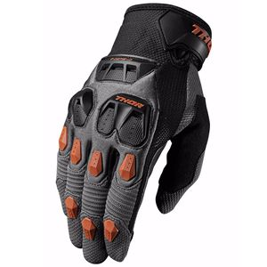 Gants Cross Thor Defend - Charbon Orange - 2018